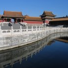 Picture - Water at the Forbidden City in Beijing.