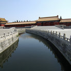 Picture - A canal in the Forbidden City, Beijing.
