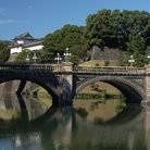 Picture - Bridge at the Japanese Imperial Palace in Tokyo.