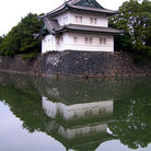 Picture - Guard house at the Imperial Palace in Tokyo.