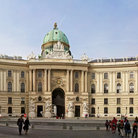 Picture - Facade of palace at Hofburg, Vienna.