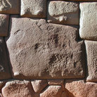 Picture - The famous 12 sided Inca Hatunrumiyoc stone in Cusco.