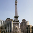 Picture - War memorial in Indianapolis.