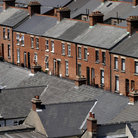 Picture - Row housing, Inner City North, Dublin.