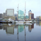 Picture - The inner harbor, Baltimore.