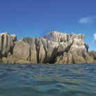 Picture - Dramatic rocks in the Inner Islands.