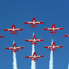 Picture - Snowbirds at the Toronto International Airshow.