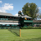 Picture - Court at International Tennis Hall of Fame in Newport, Rhode Island.