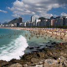 Picture - Enjoying the beaches of Rio de Janeiro.