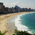 Picture - Ipanema and Leblon Beach.