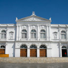 Picture - The white Opera House on Plaza Prat in Iquique.