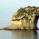 Picture - Rock formation off Ischia Island.