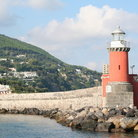 Picture - Beacon on Ischia Island.