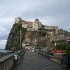 Picture - Fortress Castello Aragonese on the island of Ischia.