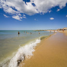 Picture - A beach on Isla de Margarita.
