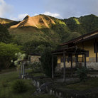 Picture - A building at the base of a mountain on Isla de Margarita.