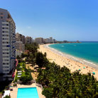 Picture - View over Isla Verde beach.