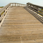 Picture - Boardwalk at Island Beach State Park.