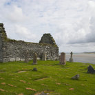 Picture - An old cemetery on the Isle of Islay.
