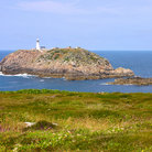 Picture - Round Island Lighthouse, Isles of Scilly.