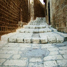 Picture - Stairs in old Jaffa.