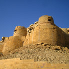 Picture - Exterior of the Fort in Jaisalmer.