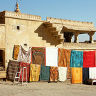 Picture - Cloth for sale in Jaisalmer.