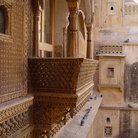 Picture - Balcony in Jaisalmer.
