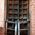 Picture - Old doorway in Jaisalmer.