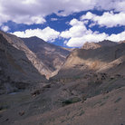 Picture - A Tantak mountain village in Zanskar.