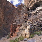 Picture - A chorten at Shade Gorge, Shingri Chu valley in Ladakh.