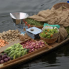 Picture - Floating vegetable market in Kashmir.
