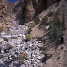 Picture - A gorge in the Zanskar Mountains, Ladakh.