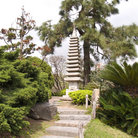 Picture - A structure at the Japanese Garden in Buenos Aires.