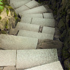Picture - Winding stone staircase at Japanese Gardens in Portland.