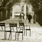 Picture - Chairs in the Jardin des Tuileries.