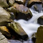 Picture - Close up of rocks in stream at Rocks State Park, Maryland.