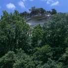 Picture - Ground view of a cliff near Jefferson City, Missouri.