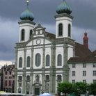 Picture - Jesuit Church a Baroque building in Lucerne.