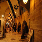 Picture - The Cardo, Jewish Quarter, Old City, Jerusalem.