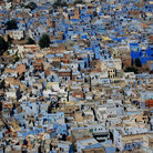 Picture - View over the blue architecture of Jodhpur.