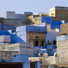 Picture - Blue houses of Jodhpur.
