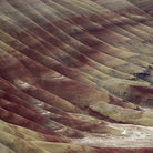 Picture - Colorful slope in the painted hills of John Day National Monument.