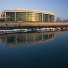 Picture - The John G Shedd Aquarium on the waterfront in Chicago.