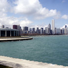 Picture - Chicago skyline with Shedd Aquarium.