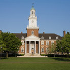 Picture - Gilman Hall at Johns Hopkins University in Baltimore.