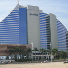 Picture - Front view of the Jumeirah Beach Club and Spa in Dubai.
