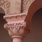 Picture - Column from the Junagarh Fort in Bikaner.