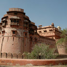 Picture - An old Fort at Bikaner.