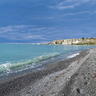 Picture - Pebble beach at Kaikoura.